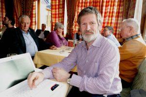 Peter Pernsteiner auf der Wahlkampf-Klausurtagung der FDP Ebersberg und FDP Erding